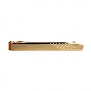 Striped Effect Tie Bar