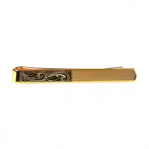 Venetian Engraved Tie Bar