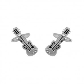Guitar Instrument Cufflinks