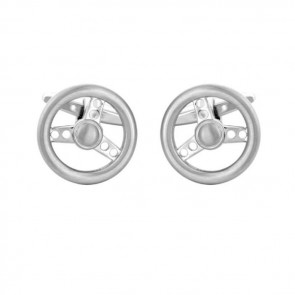 Steering Wheel Detailed Cufflinks