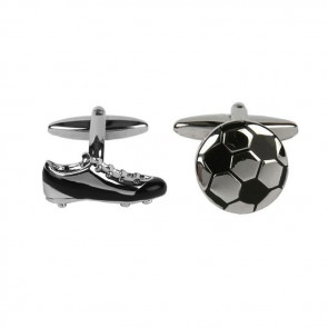 Football Boot And Ball Cufflinks