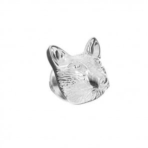 Sterling Silver Fox Pin