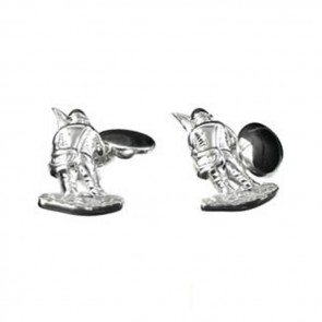 Sterling Silver Fisherman Cufflinks