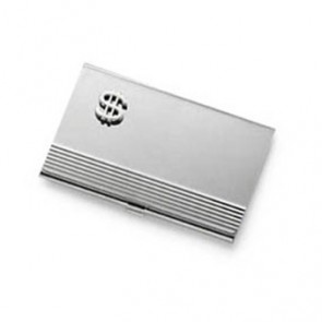 Dollar Sign Business Card Holder