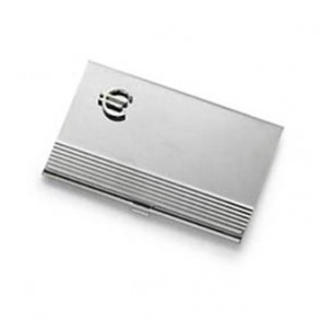 Euro Sign Business Card Holder
