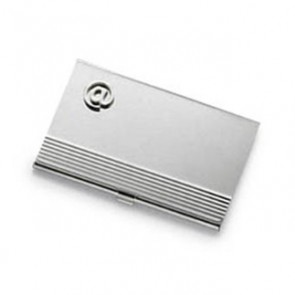 At Sign Business Card Holder