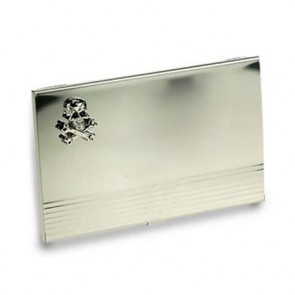 Skull And Crossbones Business Card Holder