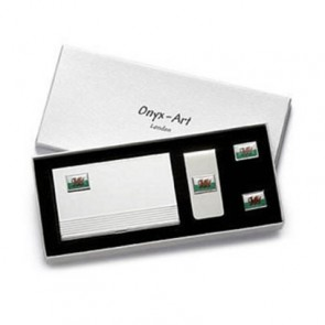 Welsh Flag Money Clip Box Set