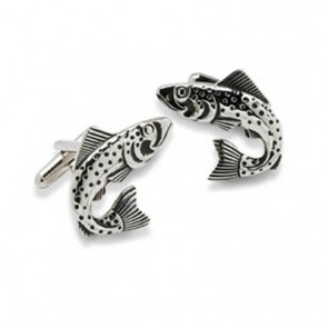 Trout Or Game Fish Cufflinks