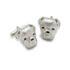Dogs Head Cufflinks