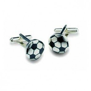 Football Shaped Cufflinks