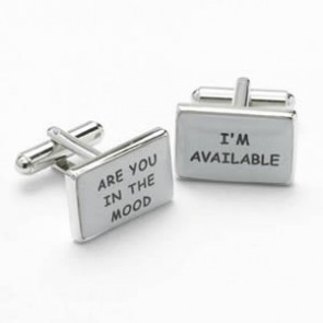 In The Mood Cufflinks