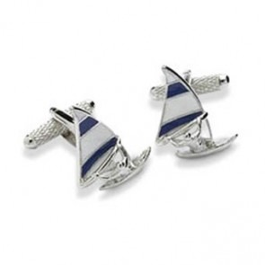 Wind Surfing Cufflinks