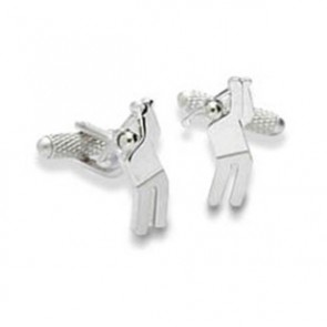 Golf Swing Cufflinks