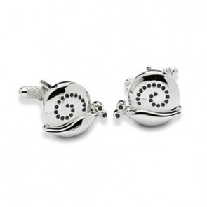 Snail On The Trail Cufflinks