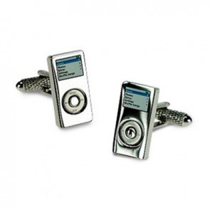 iPod Or MP3 Player Cufflinks