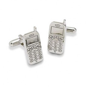 Mobile Phone Shaped Cufflinks