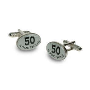 50 Something Logo Cufflinks