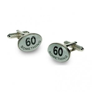 60 Something Logo Cufflinks