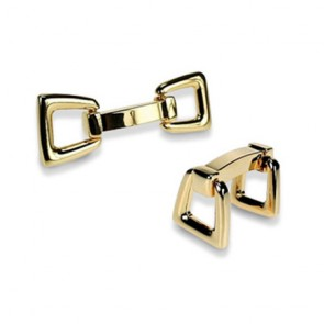 Gilt Stirrup Cufflinks