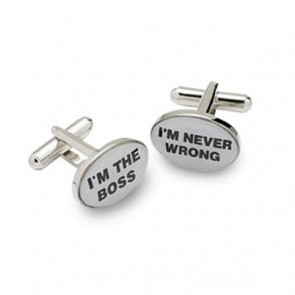 I'm The Boss Cufflinks