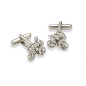 Bicycle Shaped Cufflinks