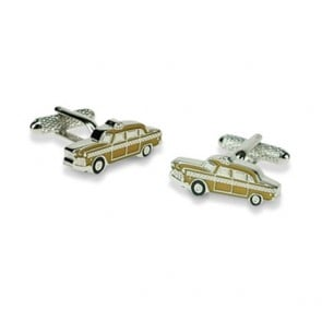 New York Yellow Cab Cufflinks