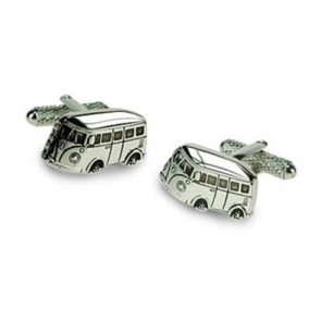 Camper Van Shaped Cufflinks