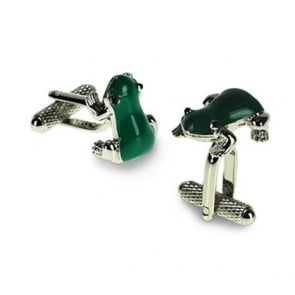 Frog Shaped Cufflinks