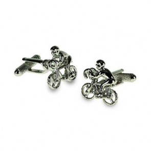 Cycle Racer Cufflinks