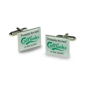 Probably The Best In The World Cufflinks