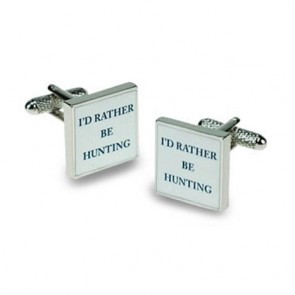 I'd Rather Be Hunting Cufflinks