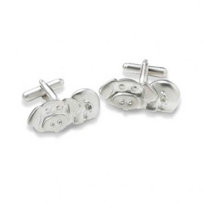 Pig Shaped Cufflinks