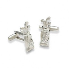 Golf Bag Shaped Cufflinks