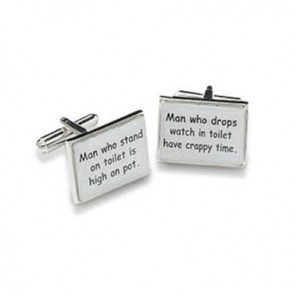 Man Who Stand Cufflinks