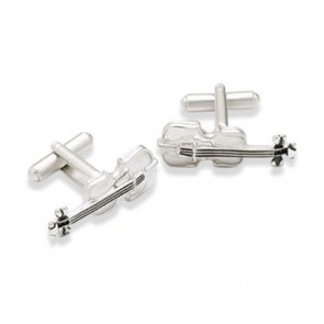 Violin Shaped Cufflinks