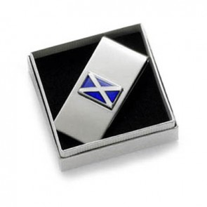 Scottish Flag Money Clip
