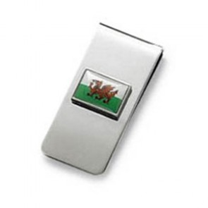 Welsh Wales Flag Money Clip