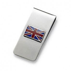 Union Jack Flag Money Clip
