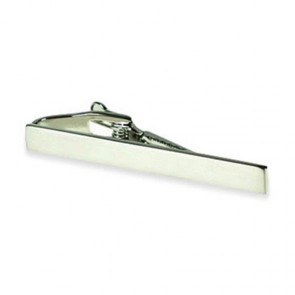 Brushed Slim Tie Bar