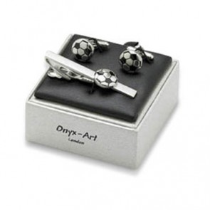 Football Cufflinks Box Set