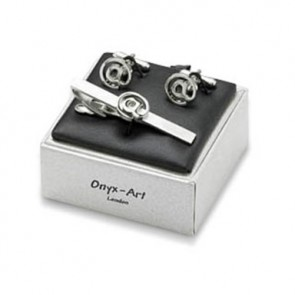 At Sign Cufflinks Box Set
