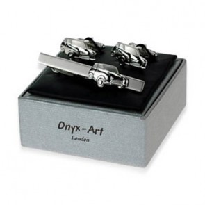 Silver Mini Car Gift Box Set