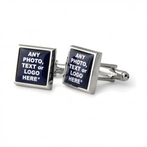 Square Personalised Cufflinks