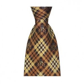 Brown Hurdle Jumping Tie
