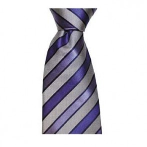 Blue Shades Diagonal Stripe Tie