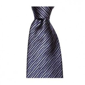 Blue Waves Pattern Tie