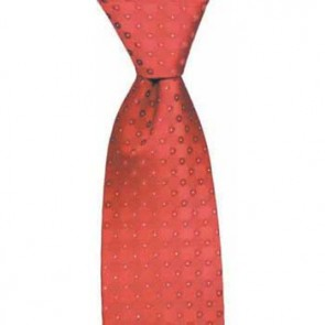 Red Chain Spot Tie