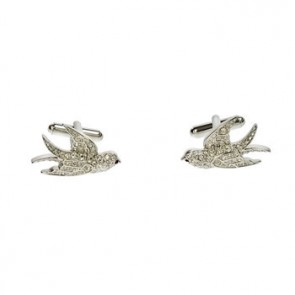 Tattoo Swallow Cufflinks