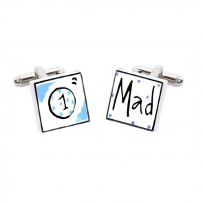 Cricket Mad Cufflinks